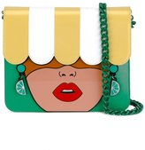 Yazbukey Under My Umbrella shoulder bag - women - Leather/PVC - One Size