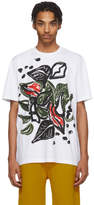 Marni White and Multicolor Graphic T-Shirt