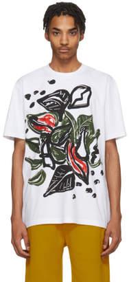 Marni White and Multicolor Graphic T-Shirt