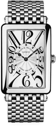 Franck Muller Long Island Stainless Steel Bracelet Watch