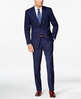 Perry Ellis Portfolio Blue Twill Slim-Fit Suit