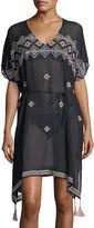 Seafolly Cross-stitch Coverup Caftan Dress