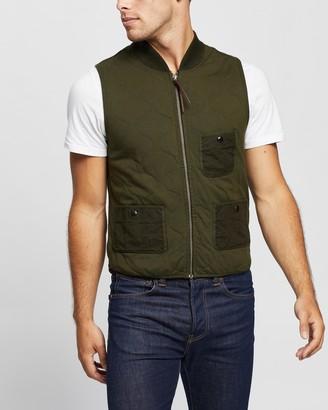 Ralph Lauren RRL Quilted Cotton Jersey Vest