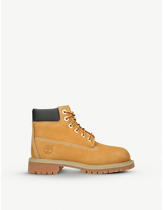 Timberland 6-Inch Premium waterproof leather boots 7-9 years
