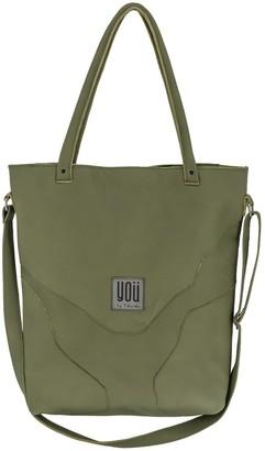 You By Tokarska Leather Handbag Goa Khaki