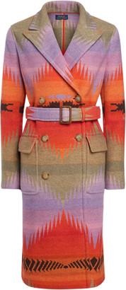 Ralph Lauren Serape Wool-Blend Coat
