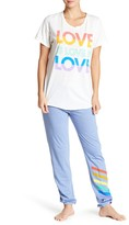 Junk Food Clothing Rainbow Stripes Lounge Pants
