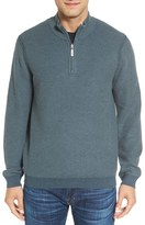 Tommy Bahama Men's 'Make Mine A Double' Reversible Quarter Zip Sweater