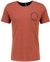 Criminal Damage Grave Print Tshirt Rust/black