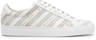 Givenchy Chain perforated low-top sneakers