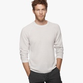 James Perse Cotton Cashmere Thermal Raglan