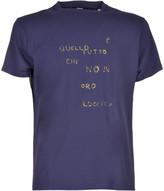 Aspesi Glitter Slogan Print T-Shirt