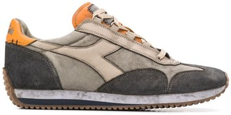 Diadora Equipe H Dirty low-top canvas trainers