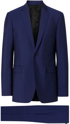 Burberry Slim Fit Wool Mohair Suit