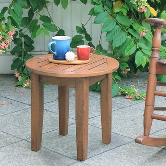 Three Posts Dowling Solid Wood Side Table