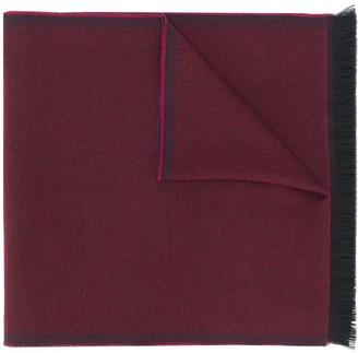 Dell'oglio Selva contrast edge scarf