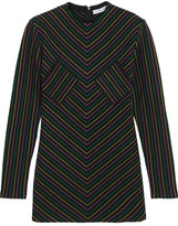 J.W.Anderson Striped Cotton-jersey Top - Black