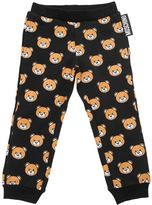 Moschino Bear Printed Cotton Sweatpants