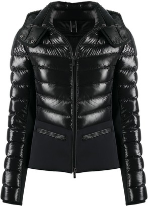 Hogan Panelled Puffer Jacket