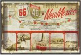 Bed Bath & Beyond New Mexico Greetings Postcard on Box Wall Art