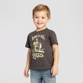 """Lyric Culture Red Label Toddler Boys' Lyric Culture """"Blame it All on My Roots"""" Graphic T-Shirt - Charcoal"""