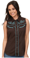 Roper 100 Contrast Twill w/ Baroque Curves Embroidery