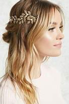 Forever 21 Etched Leaf Headband