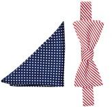 Alara Silk Freedom Bow Tie & Pocket Square Set