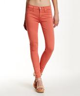 Hudson Orange Nico Skinny Jeans