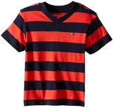 Tommy Hilfiger Famous Stripe Tee (Toddler)