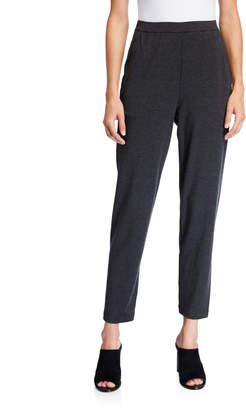 Eileen Fisher Slouchy Jersey Ankle Pants