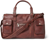 Brunello Cucinelli - Burnished-leather Holdall