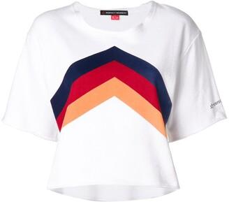 Perfect Moment chevron print T-shirt