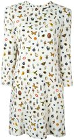 Alexander McQueen 'Obsession' print dress - women - Silk/Viscose - 44