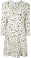 Alexander McQueen 'Obsession' print dress - women - Silk/Viscose - 44
