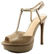 Jessica Simpson Carah Open Toe Synthetic Platform Heel.