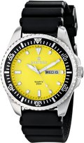Sartego Men's SPQ67-R Ocean Master Japanese Quartz Movement Watch