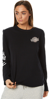 Hurley Shralper Long Sleeve T Shirt Black
