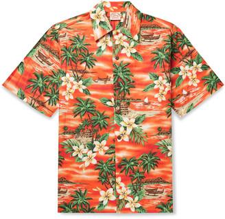 Go Barefoot Bora Bora Printed Cotton Shirt