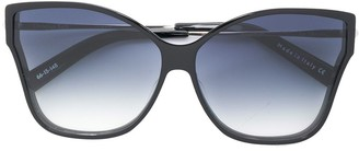 Christian Roth Tripale butterfly frame sunglasses