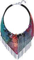 Swarovski Haute Couture Necklace, Multi-colored, Ruthenium plating
