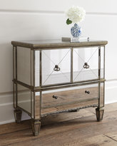 Horchow Zelda Mirrored Console Cabinet