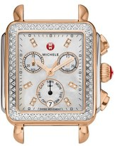 Michele 'Deco Diamond' Diamond Dial Watch Case, 33mm x 35mm