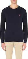 Polo Ralph Lauren Logo-embroidered cotton-jersey top