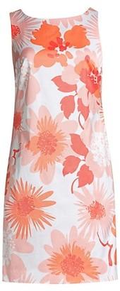 Trina Turk Berries Shift Mini Dress