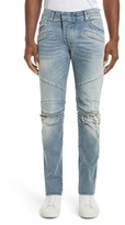 Pierre Balmain Men's Slit Knee Jeans