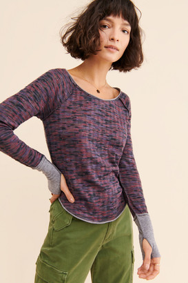 Free People Spaced Out Long Sleeve Tee