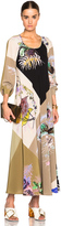 Etro Long Sleeve A Line Maxi Dress