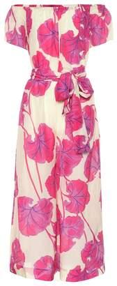 Diane von Furstenberg Helena cotton and silk jumpsuit