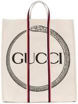 Gucci Ouroboros print tote